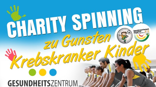 Spinning für den guten Zweck - am Sonntag in Salzgitter.