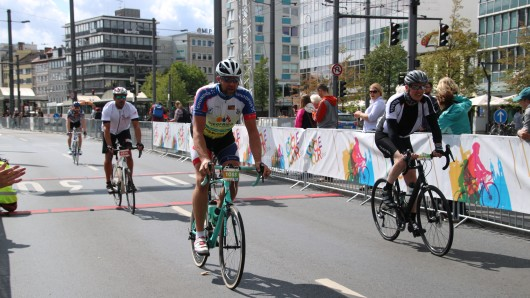 Schon zum 3. Mal findet die Cycle Tour statt.