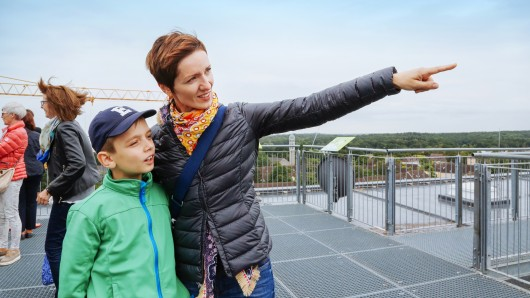 Über den Dächern der Stadt - Interessierte können Wolfsburg jetzt aus einer anderen Perspektive sehen