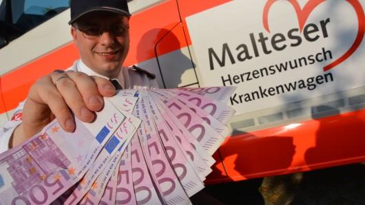 Andreas Nickel, ehrenamtlicher Geschäftsführer der Malteser Wolfsburg, kann nun noch mehr letzte Herzenswünsche erfüllen