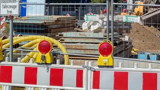Aus der Celler Straße wird es sich stauen, die Berliner Straße ist dicht (Symbolbild).