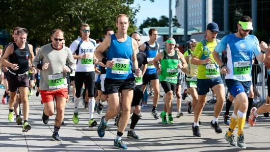 Die Läufer hatten am Sonntag fast ideale Bedingungen.