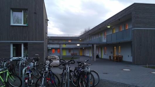 Das Flüchtlingswohnheim in Melverode (Archivbild).