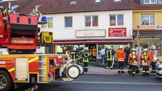 Der Brand in einem Pizza-Ofen hat am Freitag für einen Feuerwehreinsatz in der Berliner Straße in Lebenstedt gesorgt.