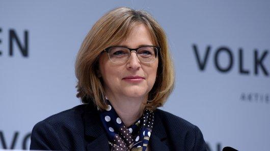 VW-Vorstandsmitglied Hiltrud Werner ist für Integrität und Recht zuständig.