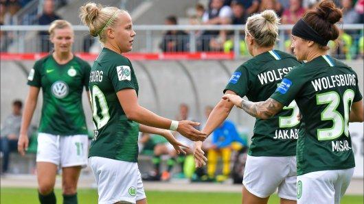 Die VfL Frauen haben das Achtelfinale der Champions League erreicht. (Archivbild)