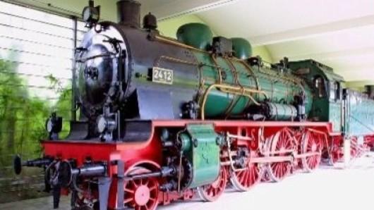 Zu den Ausstellungsstücken des Alstom-Werksmuseums in Salzgitter gehört auch eine Dampflok des berühmten Typs P8.