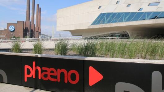 Eine der letzten Stationen ist das phaeno in Wolfsburg.