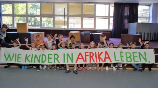 Weltkindertag in der Grundschule Fallersleben