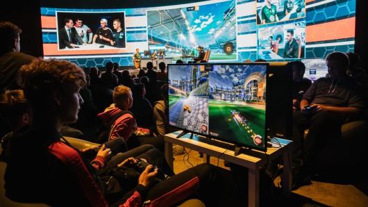 Mitmachen!, hieß es bei den ersten Wolfsburger Gaming Days.