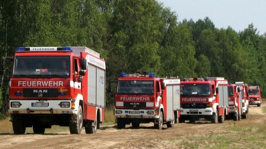 Am Sonntagnachmittag machten sich die Kräfte der Feuerwehr Braunschweig von der Südwache aus auf den Weg.