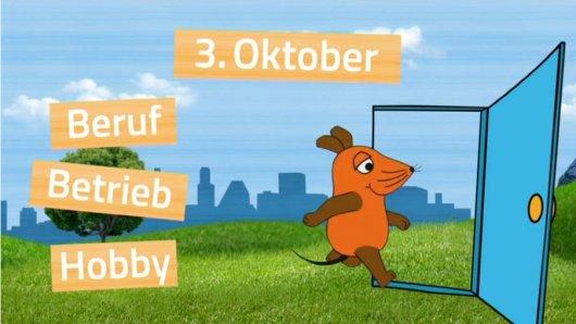 Die Sendung mit der Maus hat für alle Kinder aus Niedersachsen den Türöffner-Tag organisiert.