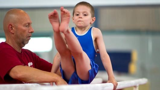 Jedes Kind trainiert in seinem eigenen Tempo.