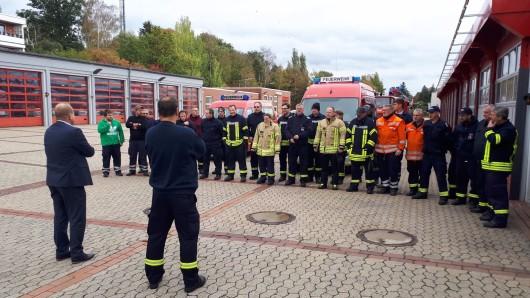 Die Feuerwehr-Einsatzkräfte aus Helmstedt sind aus Meppen zurück.