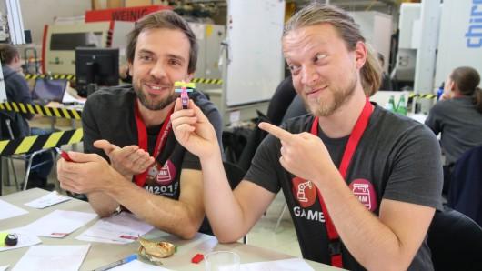 Beim GameJam-Wettbewerb haben am Freitag und Samstag 22 Teilnehmer verschiedene Spiele rund um die Arbeitswelten der Zukunft entwickelt.