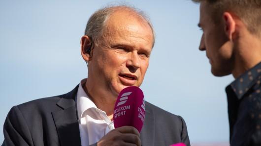 Wie lange kann er noch zu Chefcoach Henrik Pedersen stehen? Eintracht-Präsident Sebastian Ebel gerät angesichts der sportlichen Talfahrt seines Vereins zunehmend unter Druck.