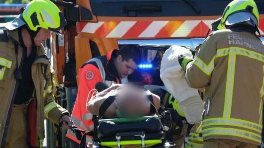 Das 25-jährige Opfer des Messerangriffs kam in ein Krankenhaus - sein Zustand gilt als stabil (Symboilfoto).