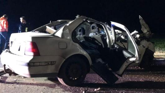 Ein Mann ist bei einem Unfall schwer verletzt worden.