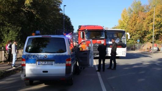 Zum Glück wurde bei dem Unfall niemand verletzt.