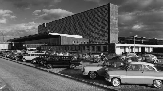 Der Braunschweiger Hauptbahnhof in den 60er und 70er.