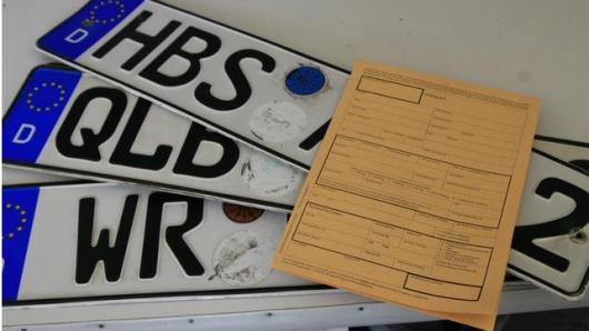 Diese Altkennzeichen sind im Landkreis Harz wieder erlaubt (Archivbild).