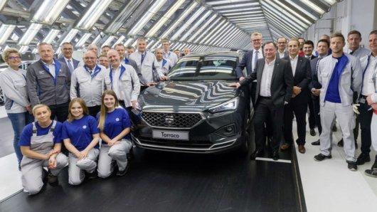 Im VW-Stammwerk hat die Produktion des Seat-SUV Tarraco begonnen; das Flaggschiff der spanischen Tochtermarke ist vom VW Tiguan abgeleitet.