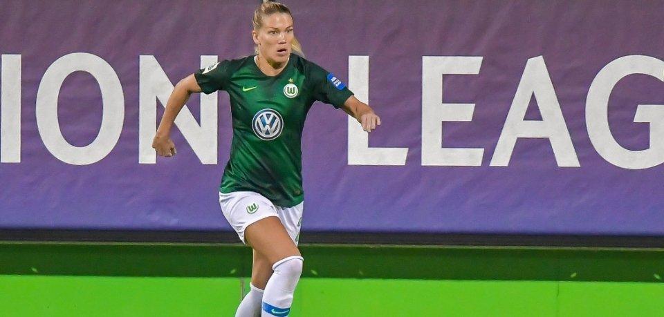 Lara Dickenmann hat sich am linken Knie schwer verletzt - sie wird monatelang ausfallen.