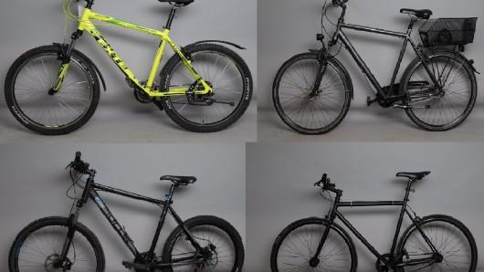 Wem gehören diese Räder?