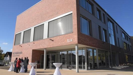 Der Anbau bietet Platz für eine vierstufige gymnasiale Oberstufe mit 260 Schülern.