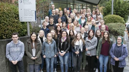 Im Klinikum Braunschweig haben 44 Auszubildende den Einstieg in ihre Berufsausbildung als Gesundheits- und Kinderkrankenpfleger bzw. als Gesundheits- und Krankenpfleger begonnen