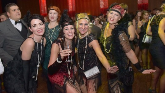 Party like Gatsby - Spectacle Extraordinaire gab's im CongressPark Wolfsburg.