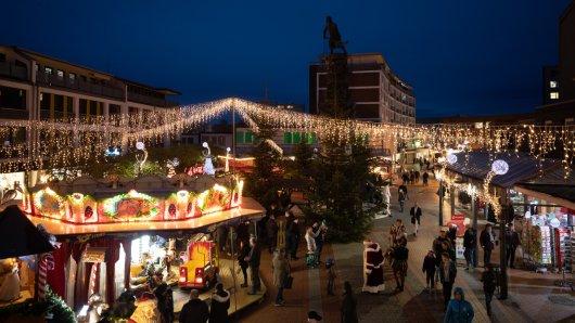 Bis zum 23. Dezember ist der Weihnachtsmarkt in Lebenstedt geöffnet.