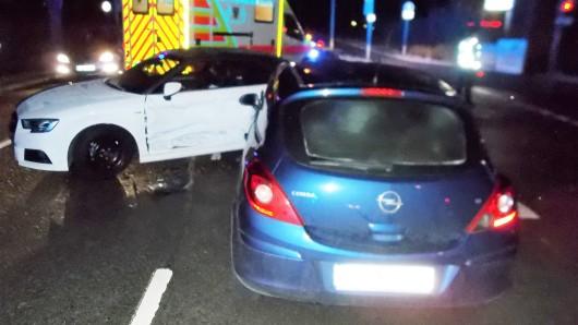 Zum Glück wurden die beiden Frauen bei dem Unfall nur leicht verletzt.