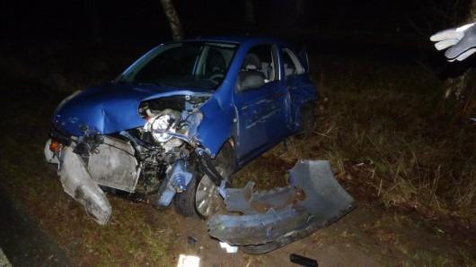 Zwei Menschen wurden bei dem Unfall am Mittwochmorgen schwer verletzt.