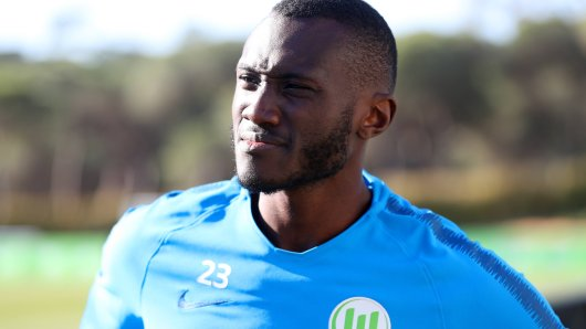Josuha Guilavogui im VfL Trainingslager im Winter 2019 in Almancil, Portugal.