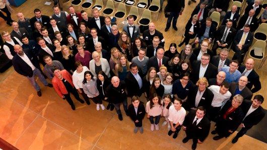 49 Einzelsportler und 21 Mannschaften wurden am Mittwochabend von der Stadt Braunschweig geehrt.
