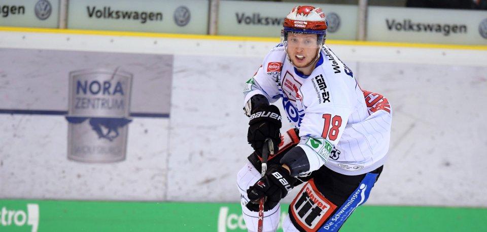 Stürmer Anthony Rech (26) hat einen Vertrag bei den Grizzlys Wolfsburg unterschrieben.