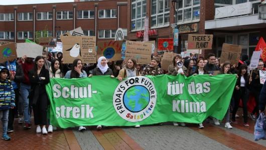 Die Fridays for Future Bewegung hat auch Salzgitter erreicht.
