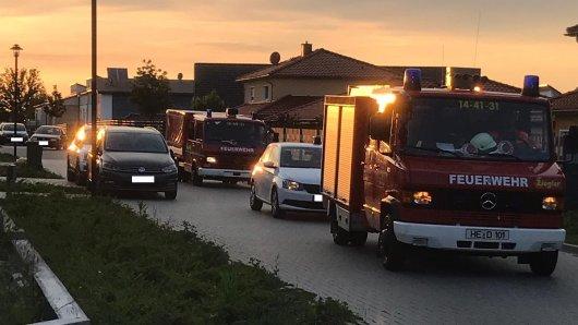 Am Abend war die Feuerwehr in Danndorf im Einsatz. (Symbolbild)