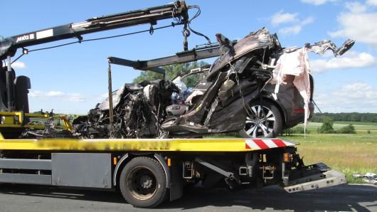 In Wolfsburg hat es am Morgen einen schweren Verkehrsunfall gegeben.