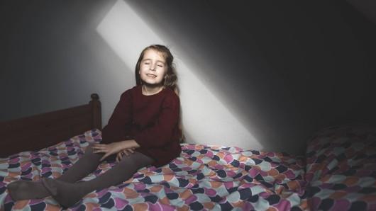 Horror: Das Mädchen erlebte eine Horrornacht. (Symbolbild)