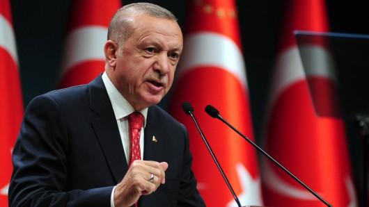 Erdogan und die türkische Regierung kritisieren die Berliner Polizei scharf. (Symbolbild)