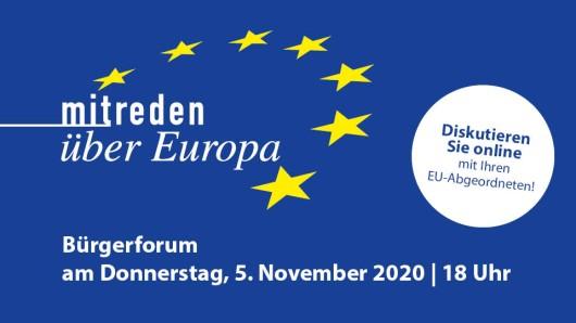 """Die Veranstaltungsreihe """"Mitreden über Europa steht ganz im Zeichen der Bürgerinnen und Bürger: Der konkrete Verlauf der Debatten ergibt sich immer aus den Erwartungen und Interessen der Anwesenden."""