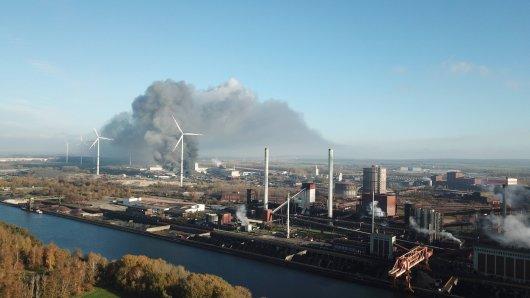 Am Donnerstag war ein Brand auf dem Gelände der Salzgitter AG ausgebrochen.