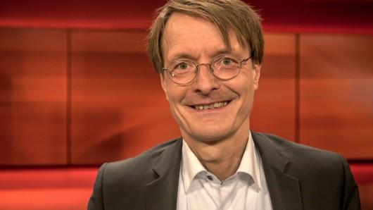 "Karl Lauterbach bei ""Hart aber fair"". (Archivbild)"