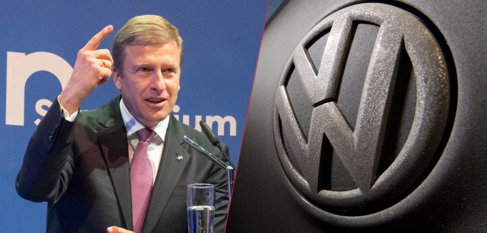 BMW-Chef Oliver Zipse stichelt gegen Konkurrent Volkswagen.