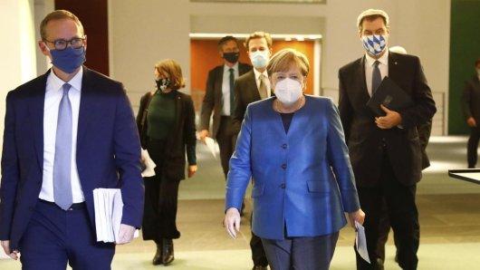 Angela Merkel spricht nach dem Corona-Gipfel live.