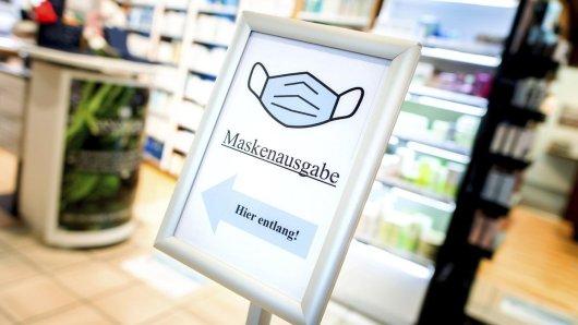 Die Ausgabe von kostenlosen FFP2-Masken in Niedersachsen habe sich eingependelt, so die Apothekerkammer Niedersachsen.