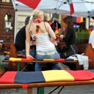 Auch in Braunschweig kannst du die Fußball-EM 2021 mit deinen Freunden zusammen gucken. (Symbolbild)
