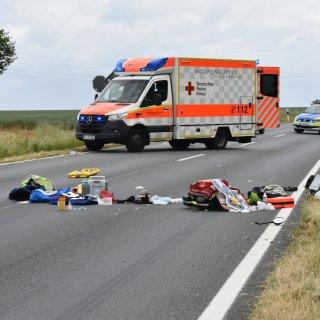 In Wolfenbüttel hat es am Sonntag einen schlimmen Unfall gegeben...